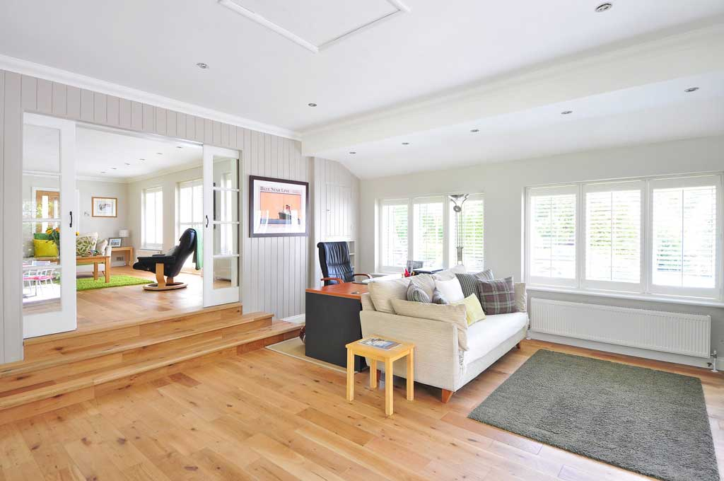 Image of clean hardwood floors.